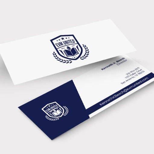 Custom Slim Business Cards, UV Coating Business Cards, Standard Uncoated Business Cards