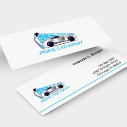Slim Business Cards Printing, Aqueous Coating Business Cards