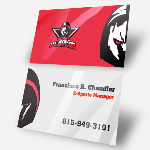 Professional Manager Business Cards With Spot UV Coating And Premium Gloss