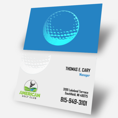Spot UV Business Cards | Spot UV Business Cards printing | Professional Manager Business Cards With Spot UV coating And Standard Gloss | Print Magic