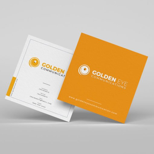 Custom Square Business Cards, Spot UV Coating Business Cards