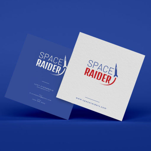 Square Business Cards | Square shape printed both side with Premium Gloss (16pt C2S) and Aqueous Coating Square Business Cards | PrintMagic