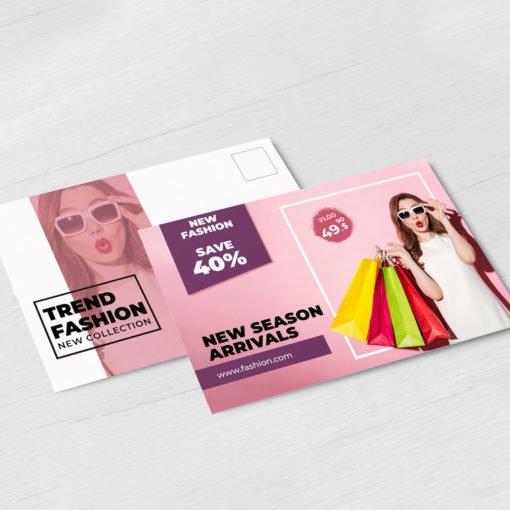 UV Coating Postcards Printing, Custom Postcard Printing