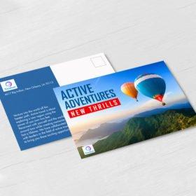 Standard Postcards Printing, Standard Gloss Postcards