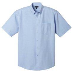 M-Lambert Oxford Short Sleeve Shirt-1