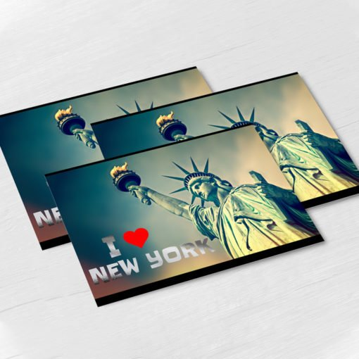 Raised Foil Postcards printing, Velvet Soft Touch Postcards