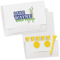 "Print 6-2 Golf Tee Packet - Value Pak-2-1/8"" Tees"