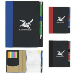 Print 5? x 7? ECO Notebook with Flags
