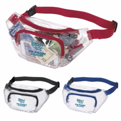 Print Clear Fanny Pack