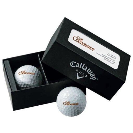 Print Callaway® 2-Ball Business Card Box ? Warbird?