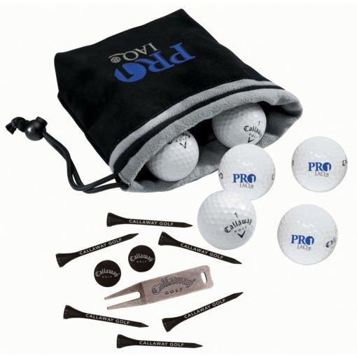 Print Callaway® 6-Ball Valuables Pouch ? Warbird?