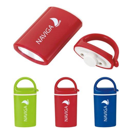 Print Mini Magnet Flashlight with Carabiner