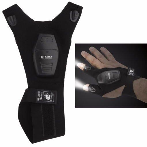 Print Fingerless Led Flashlight Glove