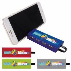 Print 4-Port USB Hub and Phone Stand