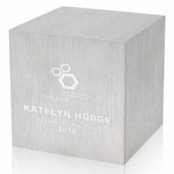 """Print 3"""" Cube Aluminum Base"""