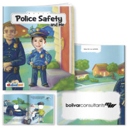 Print All About Me Book: Police Safety and Me