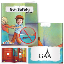 Print All About Me Book: Gun Safety and Me