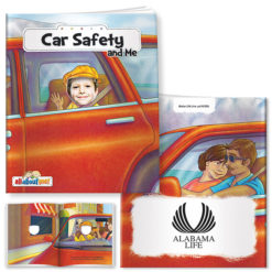 Print All About Me Book: Car Safety and Me