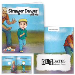 Print All About Me Book: Stranger Danger and Me