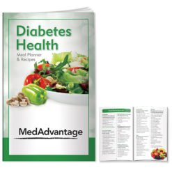 Print Better Book: Diabetes Health: Meal Planner/Recipes