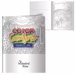 Print Adult Coloring Book - Voyages & Vistas