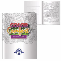 Print Adult Coloring Book - Driven To Dream