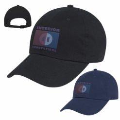 Print Natural Brushed Twill Cap