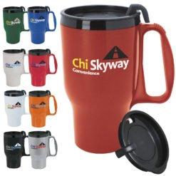 Print Budget Traveler Mug with Slider Lid - 16 oz.