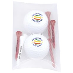 Print 2 Ball Pillow Pack - Titleist® DT TruSoft?