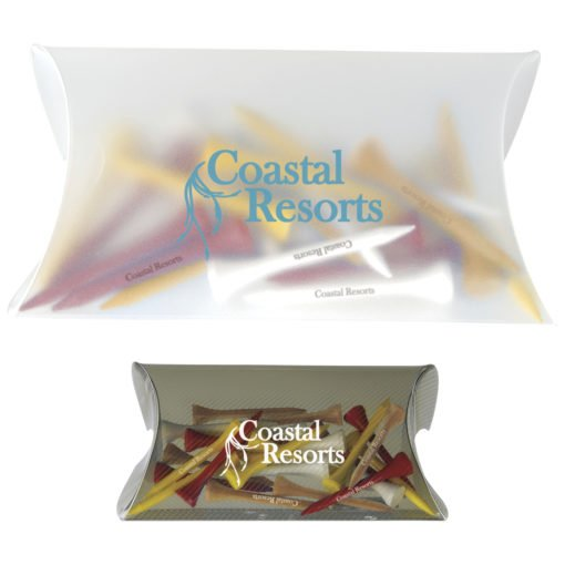 """Print Pro-Select Pouch with Tees - 2-3/4"""" Tee"""
