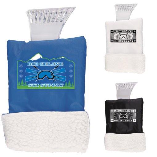 Print Ice Scraper Glove