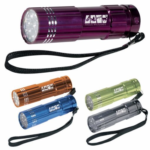Print Pocket Aluminum LED Flashlight