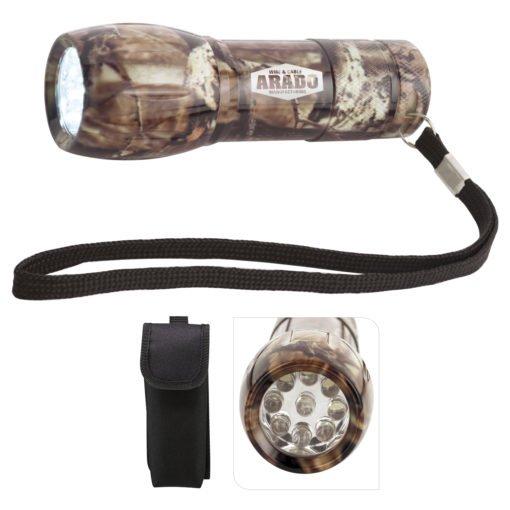 Print Mossy Oak® Camouflage Mini Aluminum LED Flashlight