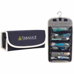 Print Fashion Roll-Up Cosmetic Case