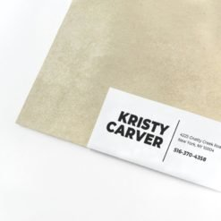 Address Labels | Rectangle Shaped Address Labels With Silk or Gloss Lamination and Bright Silver Metallic Paper Stock | Print Magic