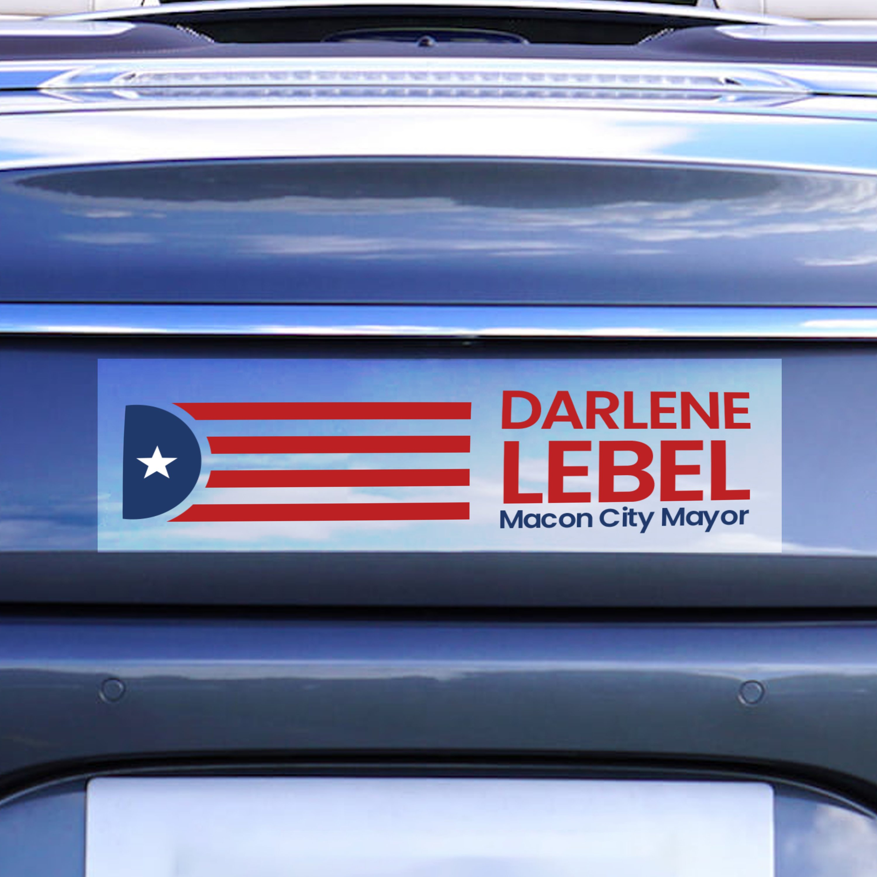Professional Automotive Bumper Stickers With Vinyl Matte Stickers for Every Campaign - Political Stickers