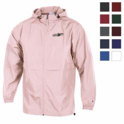 Print Champion&#174 Full Zip Lightweight Jacket