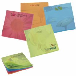 "Print BIC&#174 3"" x 3"" Bright Colored Paper Adhesive Notepad, 50 Sheet Pad"