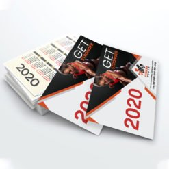 Card Calendars Printing | Premium Health and Fitness Card Calendars With UV Coating Front And Premium Gloss Paper | PrintMagic