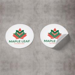 bulk custom stickers, Specialized Custom Food Stickers