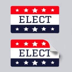 republican stickers, Political Stickers Printing, Popular Political Stickers, Vinyl Matte Sticker