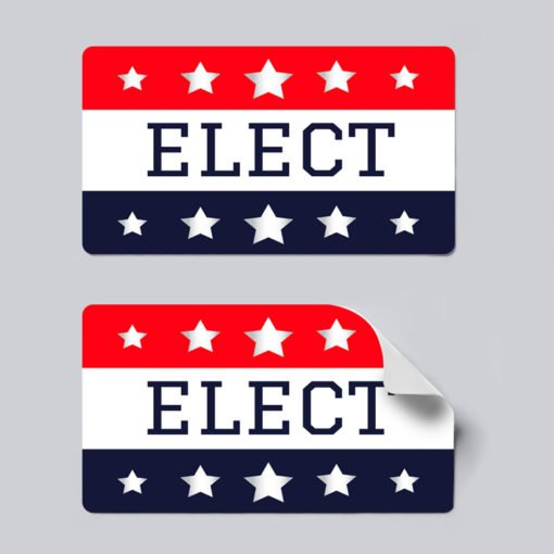 republican stickers, Political Stickers Printing, Popular Political Stickers, Vinyl Matte Sticker