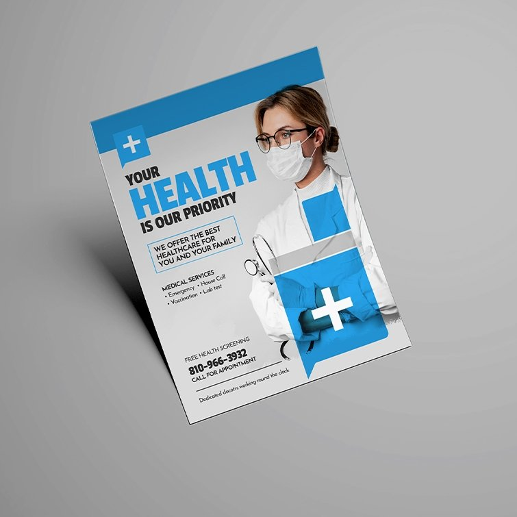 Wellness and Safety - Flyers for Covid-19