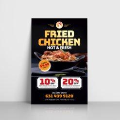 online Foil Flyers Printing, Popular Restaurant Flyers, Standard Gloss Flyer