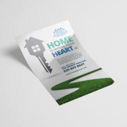 Silk Flyers, Popular Real Estate Flyers,  Premium Gloss Flyer