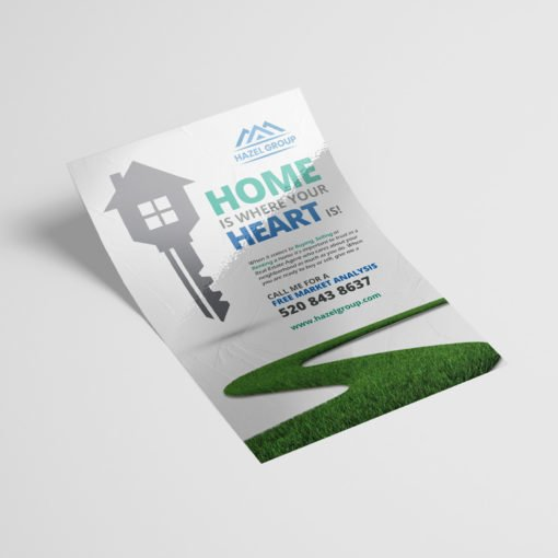 Silk Flyers, Popular Real Estate Flyers,  Premium Gloss Flyer