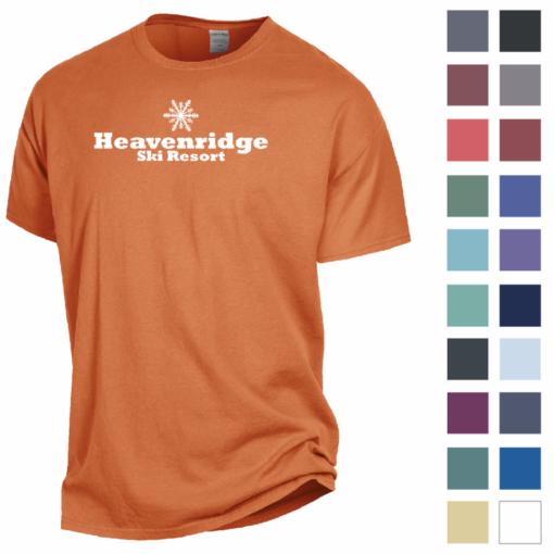 Print ComfortWash? by Hanes Garment Dyed Short Sleeve Tee