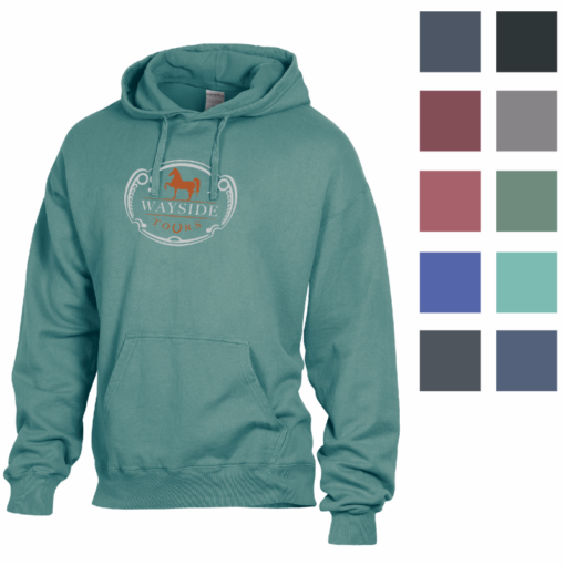 Print ComfortWash? by Hanes Garment Dyed Hoodie Fleece