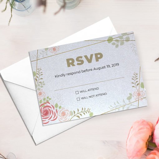 Pearl Metallic Invitation Cards printing | Professional Standard Pearl Metallic with No Coating | Front only printing | PrintMagic