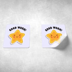 custom stickers for kids, High-Quality Education Kids Stickers, UV Coating Strickers